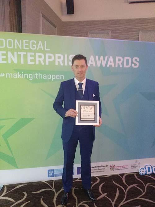 Conor McLaughlin enterprise awards