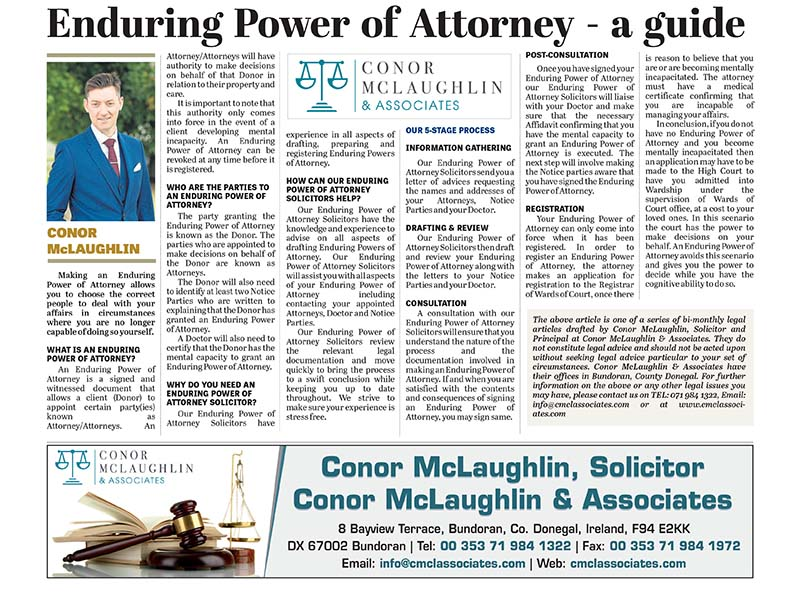 Enduring Power of Attorney - a guide